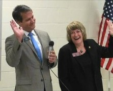 Sen. Michael Williams & Rep. Sheri Gilligan at United Tea Party of Georgia 11/09/15